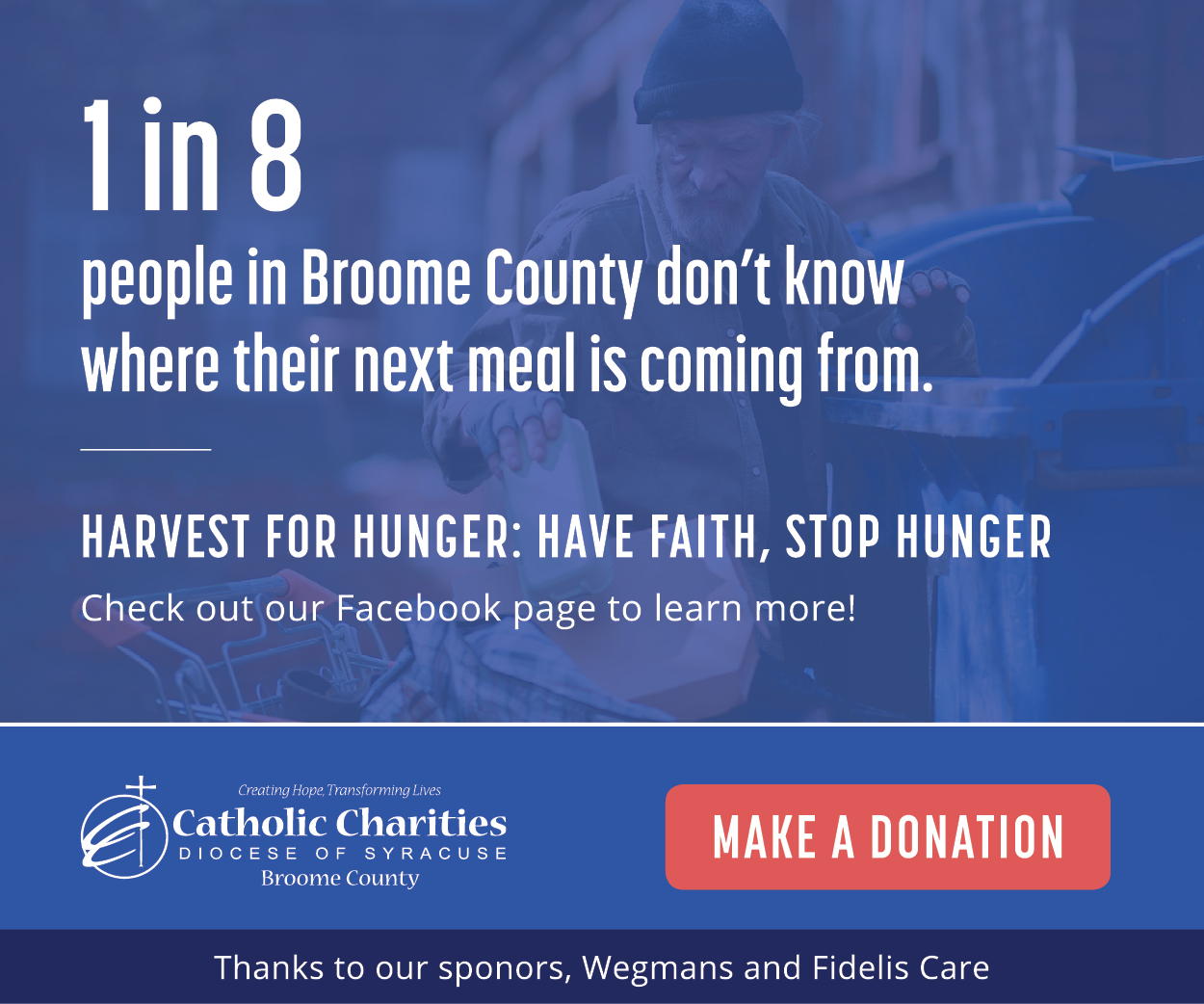 Harvest for Hunger Digital Ad 2