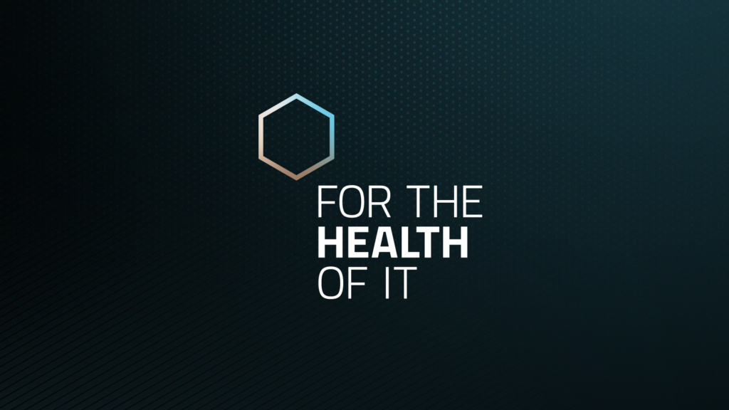 Video Series Logo - For The Health Of It