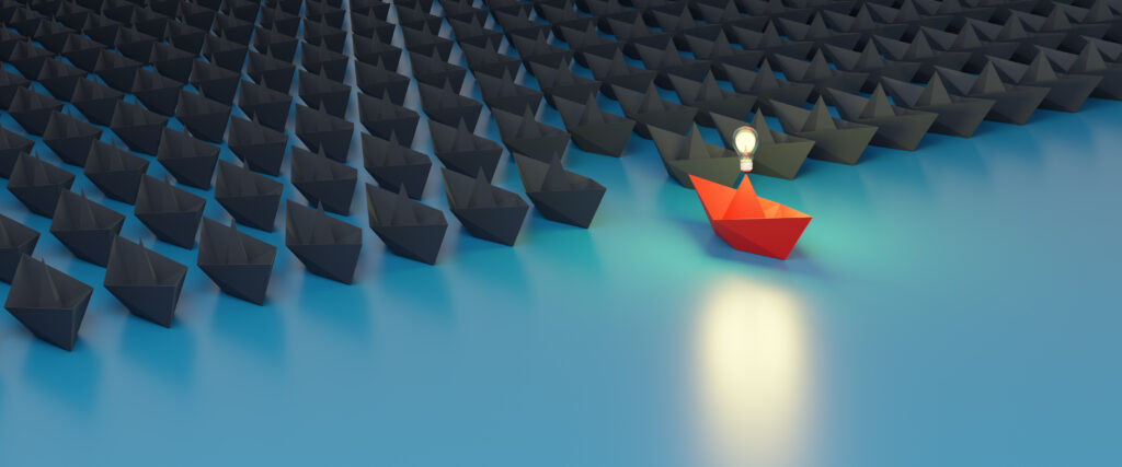 Use Thought Leadership to stand out from the crowd