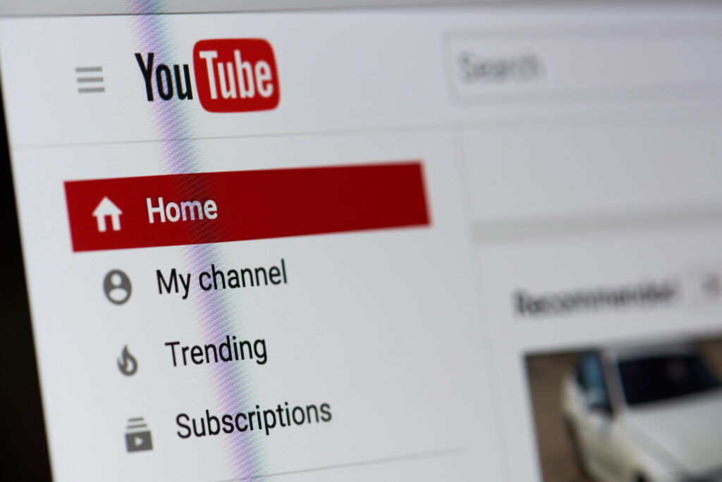 Upload video content to YouTube