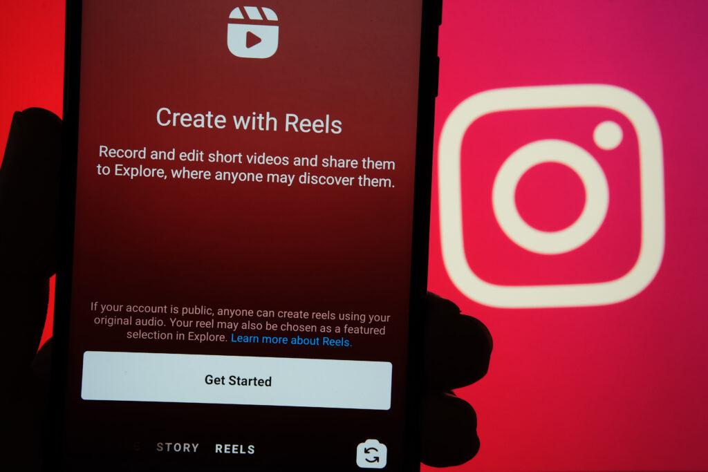 Upload video content to Instagram Reels